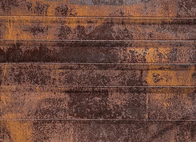 Viejos tiempos de metal oxidado, fondo