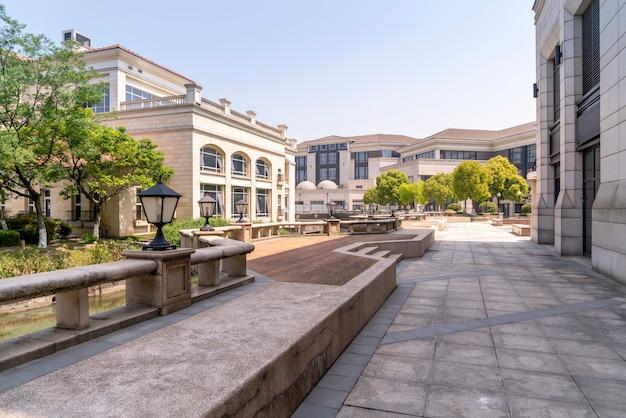 Villa resort en estilo arquitectónico europeo
