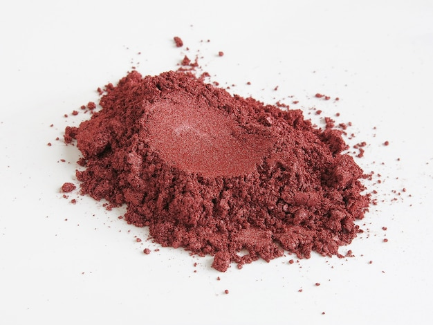 Vino tinto pigmento de mica en polvo para cosméticos