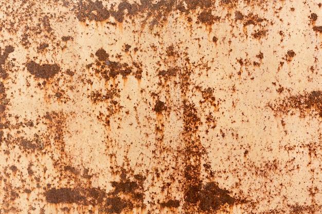 Vintage pared oxidada y rayada