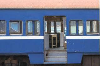 Vintage tren carrriage