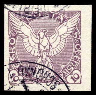 Violeta halcón sello