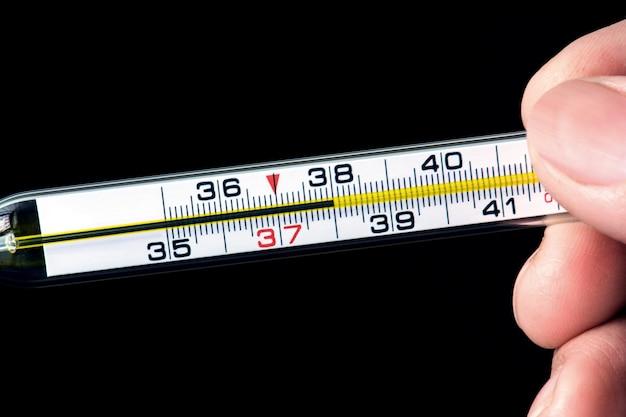 Virus de medición de la temperatura corporal covid