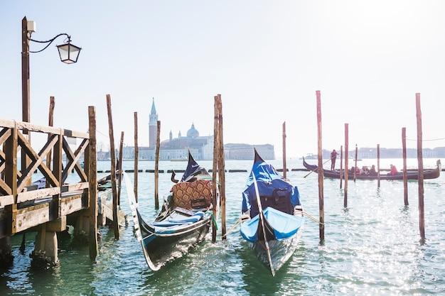 Vista adorable de venecia