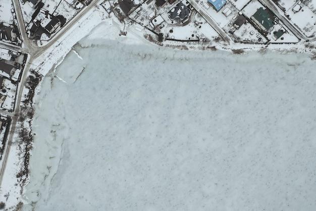 Vista aérea del pueblo