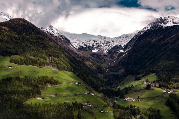 Vista aérea del valle
