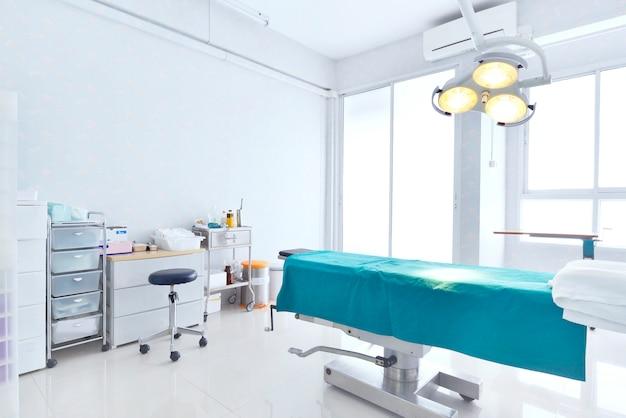 Vista interior del quirófano.