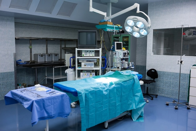 Vista interior de la sala de operaciones