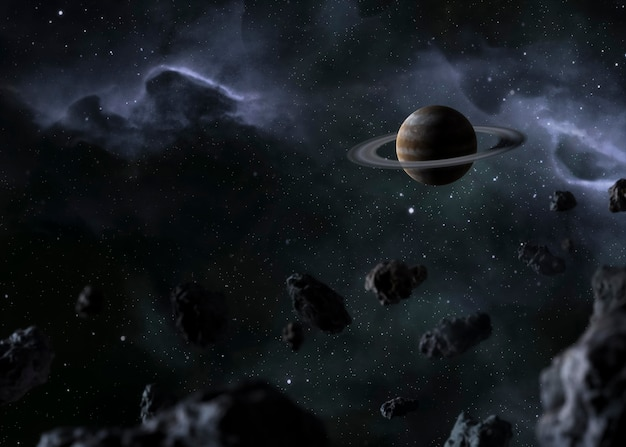 Vista nocturna de la galaxia