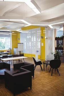 Vista de la oficina moderna