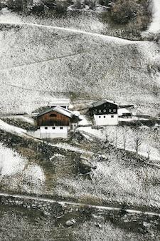 Vista panorámica de las casas