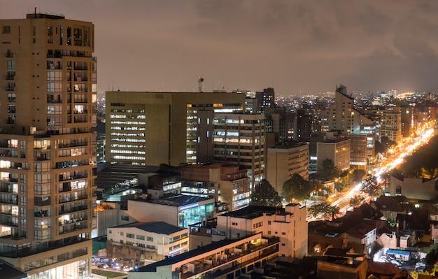 Una vista panorámica de la ciudad.