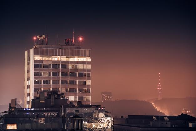 Vista sobre la ciudad sofía, bulgaria