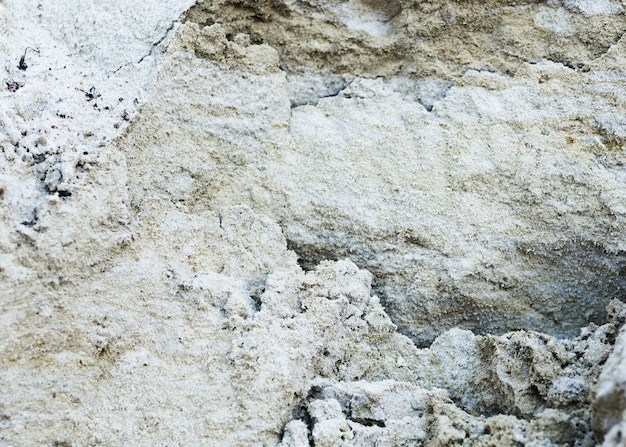 Vista superior cemento agrietado fondo