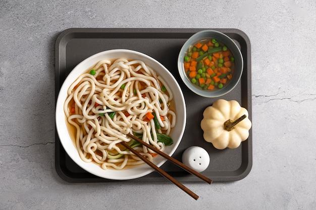 Vista superior del concepto de comida deliciosa