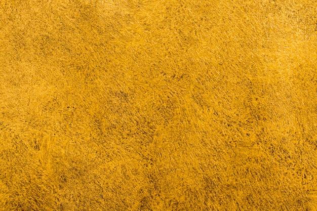 Vista superior elegante fondo dorado