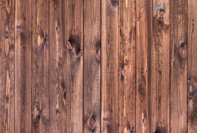 Vista superior del fondo de madera marrón