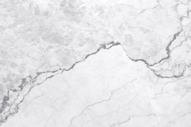 Vista superior del fondo de textura de mármol gris blanco, piso de piedra de baldosas naturales con patrón de brillo sin costuras para el diseño del mostrador y el diseño exterior interior.