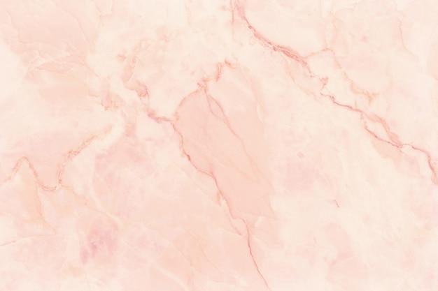Vista superior del fondo de textura de mármol de oro rosa, piso de piedra de baldosas naturales con patrón de brillo transparente para exterior interior y mostrador de cerámica de diseño.
