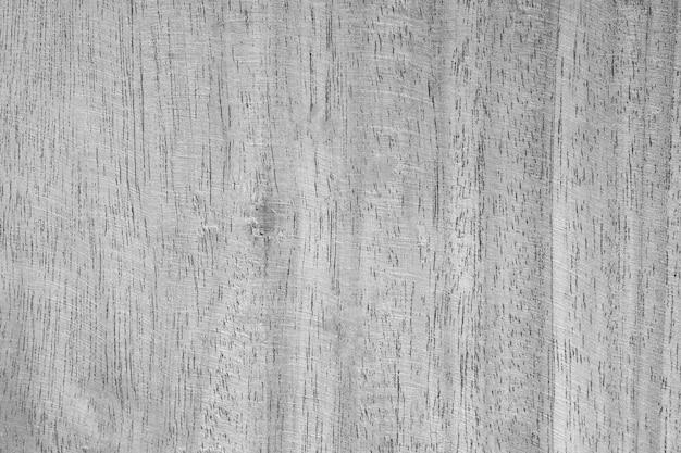 Vista superior del fondo de textura de pared de madera blanco y negro vintage