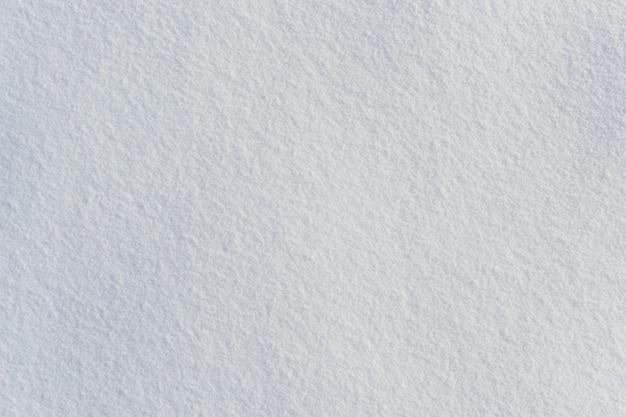Vista superior de la suave textura de nieve helada fresca de invierno