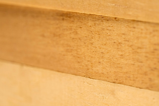 Vista superior de la superficie del material de madera
