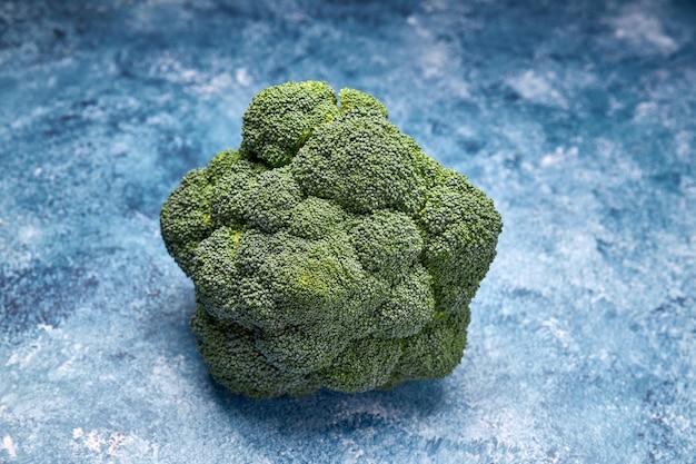 Vista de vegetales verdes frescos