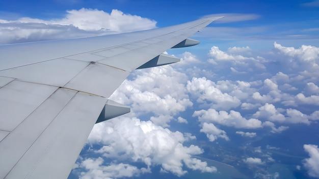 Vista desde la ventana del avión