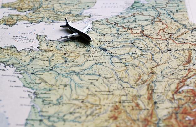 Volando sobre francia