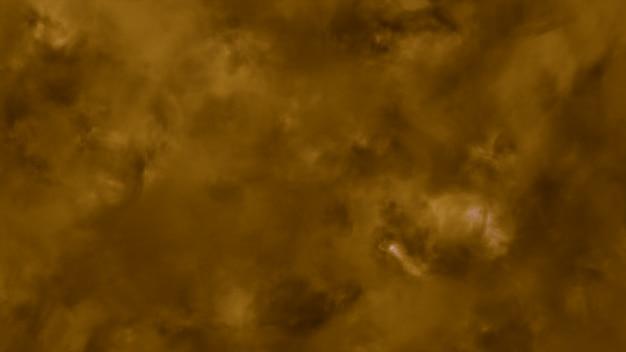 Volando a través de nubes tormentosas iluminadas con un rayo ilustración 3d flash