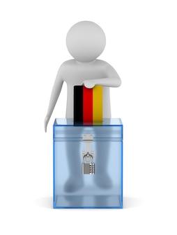 Votar en alemania en blanco