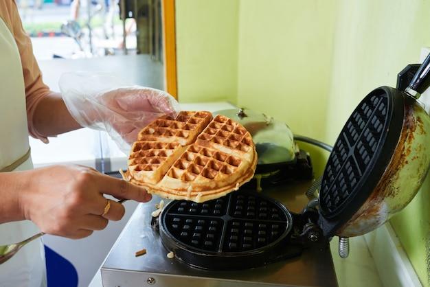 Waffle fresco