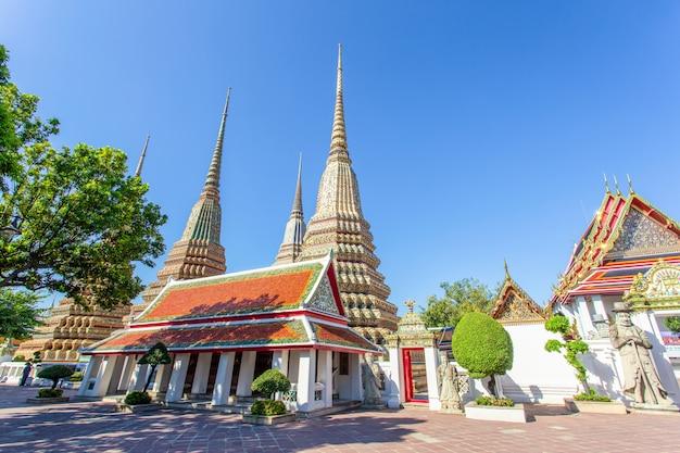 Wat pho es un templo budista en bangkok
