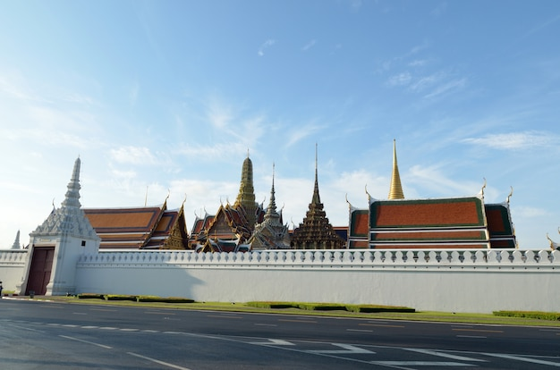 Wat phra kaew en bangkok de tailandia