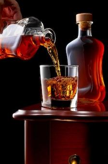 Whisky en una oscuridad