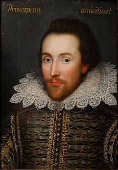William shakespeare retrato poeta escritor pintura