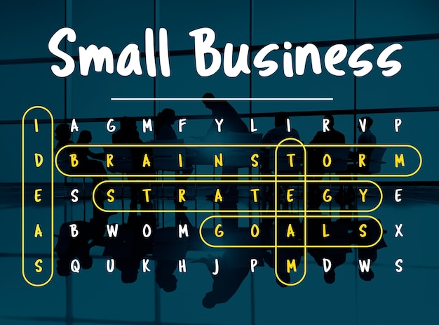 Wordsearch game word corporation business