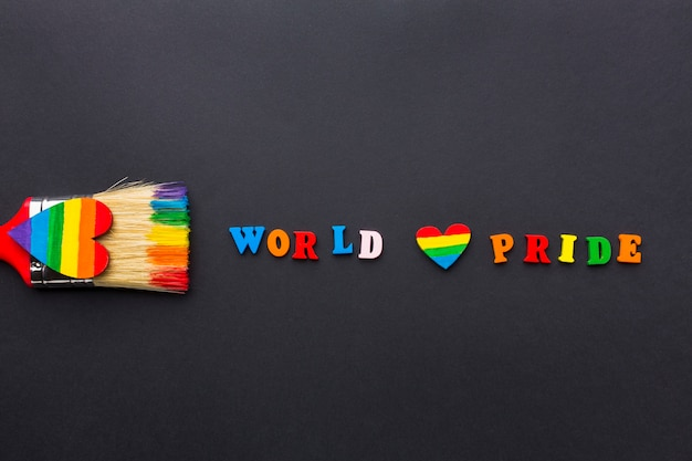 World love pride y pincel