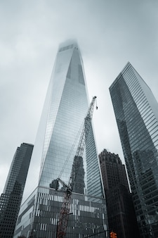 El world trade center en la ciudad de nueva york