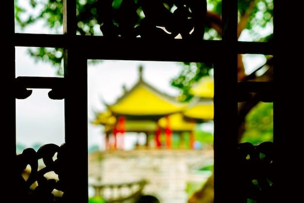 Yangzhou esbelto west lake wuting bridge