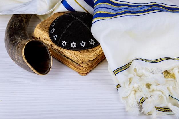 Yom kippur, año nuevo judío de rosh hashaná hashaná
