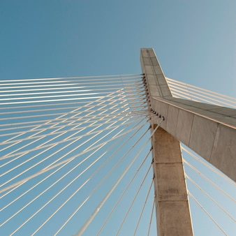 Zakim bunker hill bridge en boston, massachusetts, ee.uu.