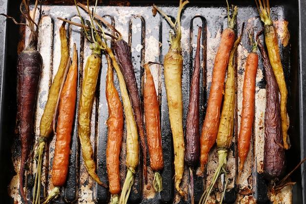 Zanahorias al horno