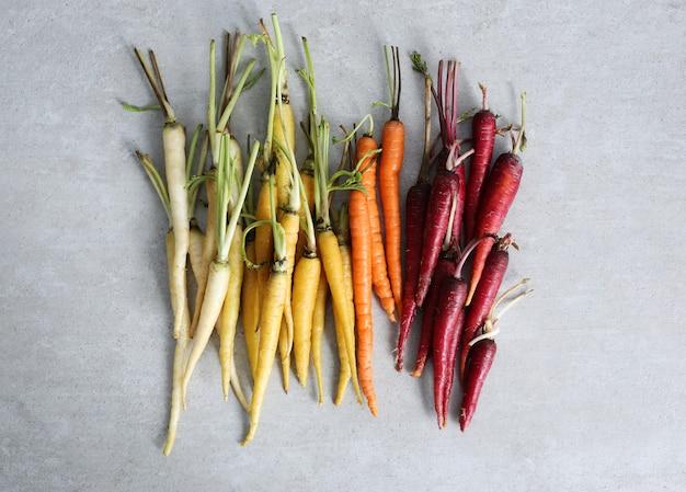 Zanahorias coloridas