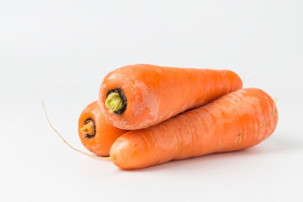 Zanahorias preparadas para comer