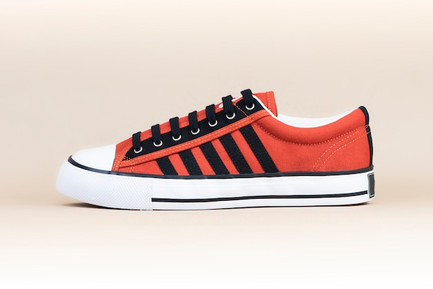 Zapatillas hombre moda naranja