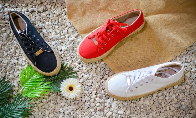 Zapatos casuales y de verano para mujer, vibraciones tropicales.