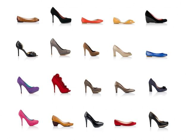 Zapatos femeninos de moda