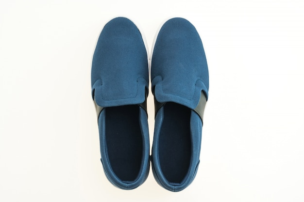 Zapatos joven pareja ancianos