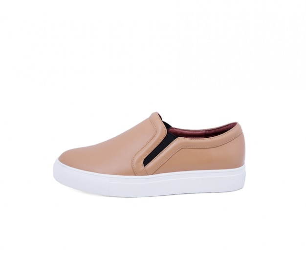 Zapatos modernos aislados